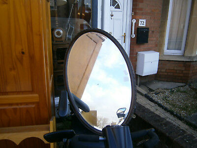 Wall Mirror Edwardian Wooden Framed Wall Mirror Oval Wall Mirror Bevaled Edge