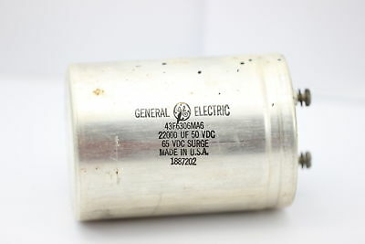 ELECTROLYTIC CAPACITOR 2200uF 50/65V GENERAL ELECTRIC NOS 1PC. CA3U1F160415