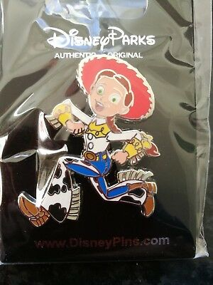 Disney trade pin Jessie toy story running