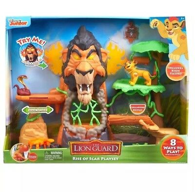 Disney Juniors Lion Guard The Rise Of Scar Playset