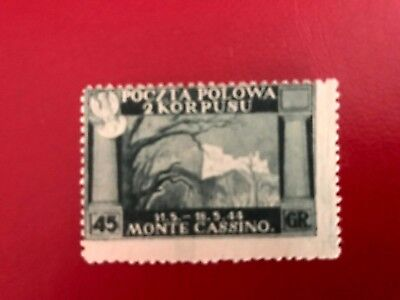 Poland,ww Ii,polish 2Nd Army Corps In Italy,field Post Stamp-Mnh