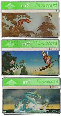 Bt Phonecards – £2 Off Classic Floyd (3 Different Phonecards)