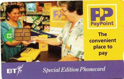 Bt Phonecard – Pay Point Special Edition Phonecard