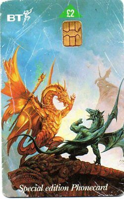 Bt Phonecard – Dragons Of Summer Flame Special Edition Phonecard No. 2