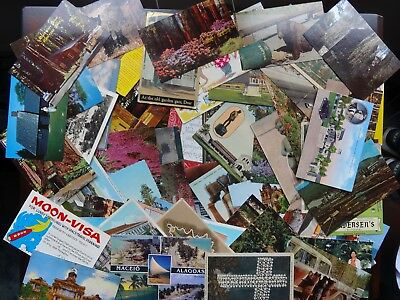 151 Vintage Postcards/ A lot of early 1900 s / Some Embossed.