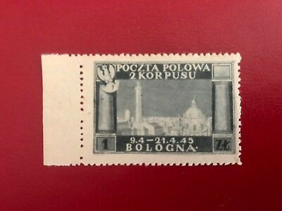 Poland,ww Ii,polish 2Nd Army Corps In Italy,field Post Stamp -Mnh