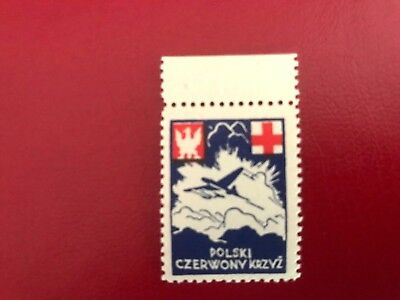 Poland ,ww Ii ,polish Gov In Exile ,1941 Red Cross Issue - Mnh