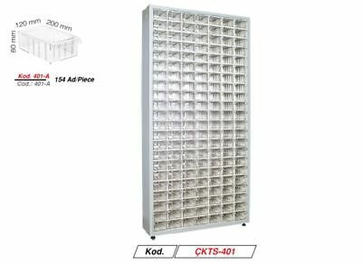 MULTI DRAWER STORAGE  CABINET UNIT SMALL BITS ORGANISER 154 drawers