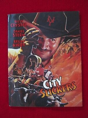 City Slickers (Billy Crystal) Press Kit - Original With Photos - Rare