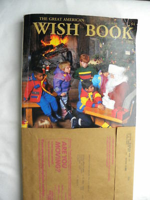 Vintage 1992 Sears Catalog Christmas Wish Book