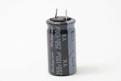 Electrolytic Capacitor Rubicon 100Uf 250V Nos (New Old Stock) 1Pc. Ca1U1F270917