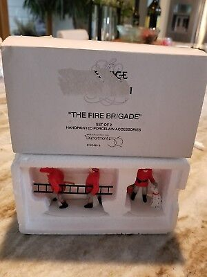 Dept 56 Dickens Village The Fire Brigade Christmas