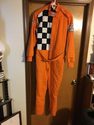Finish Line Racewear  SFI Mfr Certified 2 Layer Nomex Size Large Racing Suit