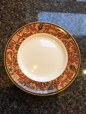"Wedgwood Bone China Set Of 4 Persia Pattern Bread Plates 6"" Never Been Used"