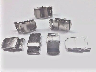"""200 pcs of   1""""  Chrome Military buckles  for web belts"""