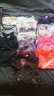 bulk lot girls clothes bundle - size 7 & 8 - 67 items