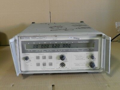 5347A Hp Agilent Microwave Counter Power Meter With Narda 0.95-2.0 Ghz Coupler