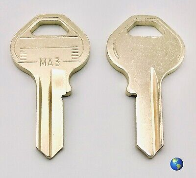 MA3 Key Blanks for Various Padlocks by Master Lock (5 Keys)