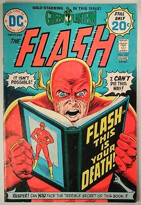 """U-Pick your issue FN to FN//VF 1973 DC Comics /""""Flash # 223 or # 224 BX55."""
