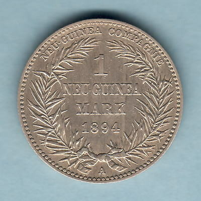 German New Guinea. 1894-A  One Mark..   aEF - Trace Lustre