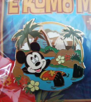 Disney Aulani Mickey Mouse Pin From The Aulani Hawaii 2013 Expansion Project