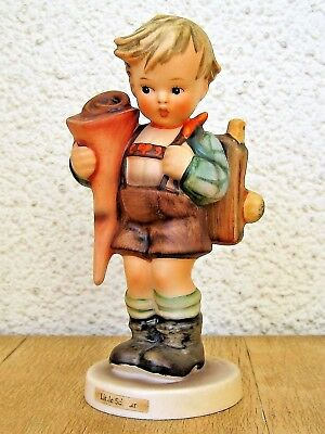Hum #80 Little Scholar Tm3 Goebel M.i. Hummel Figurine Germany Mint $375 M218