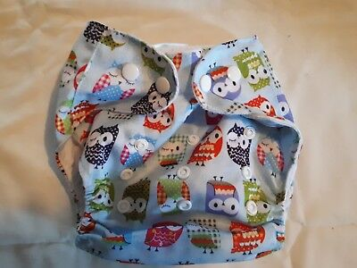 Nappy cover one size pocket adjustable