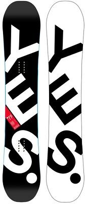 Yes. The Basic Hybrid Camber Snowboard, 156cm Wide 2018