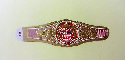 """For Sale: OLD COLLECTIBLE CIGAR BAND, """"PUNCH # 19"""", B119"""