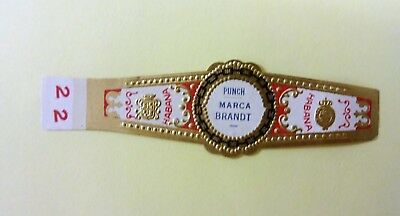 """For Sale: OLD COLLECTIBLE CIGAR BAND, """"PUNCH # 22"""", B122"""