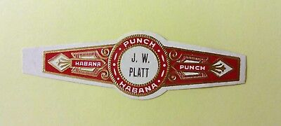 """For Sale: OLD COLLECTIBLE CIGAR BAND, """"PUNCH # 27"""", B127"""