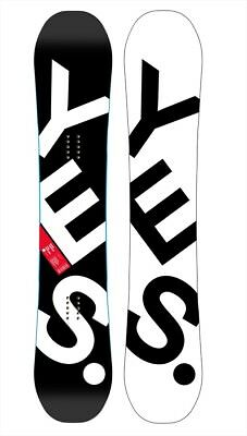 Yes. The Basic Hybrid Camber Snowboard, 159cm Wide 2018