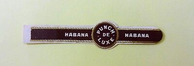 """For Sale: OLD COLLECTIBLE CIGAR BAND, """"PUNCH # 32"""", B132"""