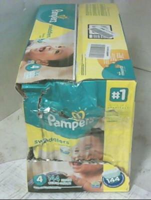 NEW Pampers Swaddlers Diapers Size-4 Economy Pack Plus, 144-Count $51