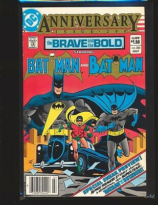 Brave & The Bold # 200 - 1st Batman & The Outsiders Fine/VF Cond.