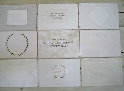 """'southern Wedding' Project Life Cards By Becky Higgins -6"""" X 4"""""""