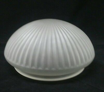 Vintage  light shade ceiling fan light fixture lamp frosted glass