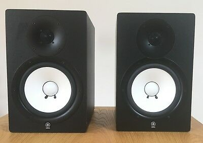 Yamaha HS80M Powered Monitor Speakers Pair