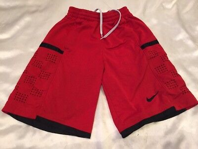 Youth Nike dri fit Red / Black size small elastic waist w / tie. Free Shipping