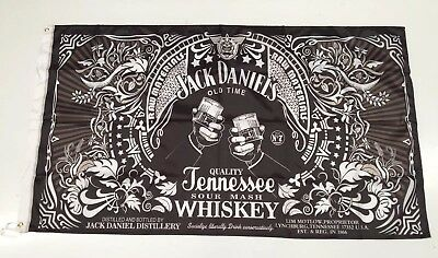 Jack Daniels Style 2 Banner Flag - Tennessee Straight Whiskey Man Cave Alcohol
