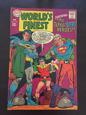 World's Finest Comics #173 1968 DC 1st SA appearance Two-Face Batman FN/VF 7.0
