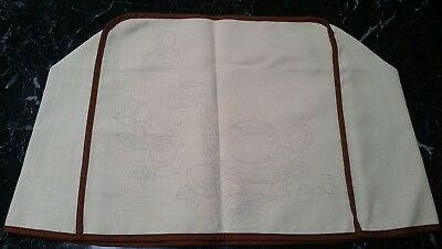 Hobbytex, Vintage fabric Appliance cover, unused & ready to paint