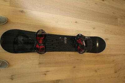Ride 161 Prophet Directional Snowboard with Ride CAD Bindings