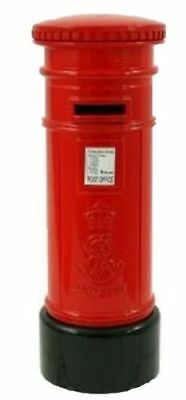 British Red Letter Post Box Money Bank Coin Box London Souvenir Gift