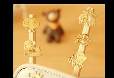 10X 24K Gold Plated Sticker Decal Mobile Phone PC Tablet LCD MP3 PDA Decoration