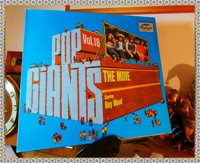 LP,  The Move Starring Roy Wood, Pop Giants Vol. 18 TOP Zustand