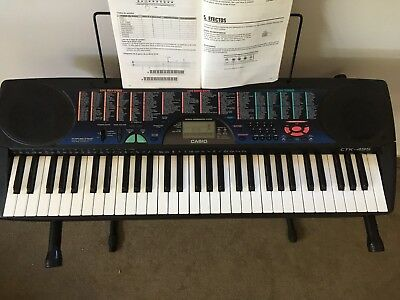 Casio Songbank Keyboard 100 CTK-495