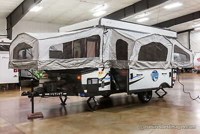 New 2017 Model RLT12STSB Real Lite Pop-Up Fold Down Camping Trailer Never Used