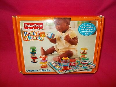 Fisher-Price Peek a Blocks Calendar Collection with Mat