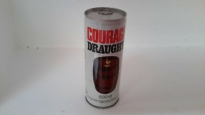 Courage Draught Beer Can 500ml Steel
